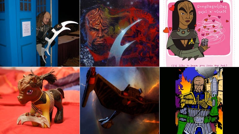 Illustration for article titled Today is a Good Day to Look at Insane Klingon Fan Art