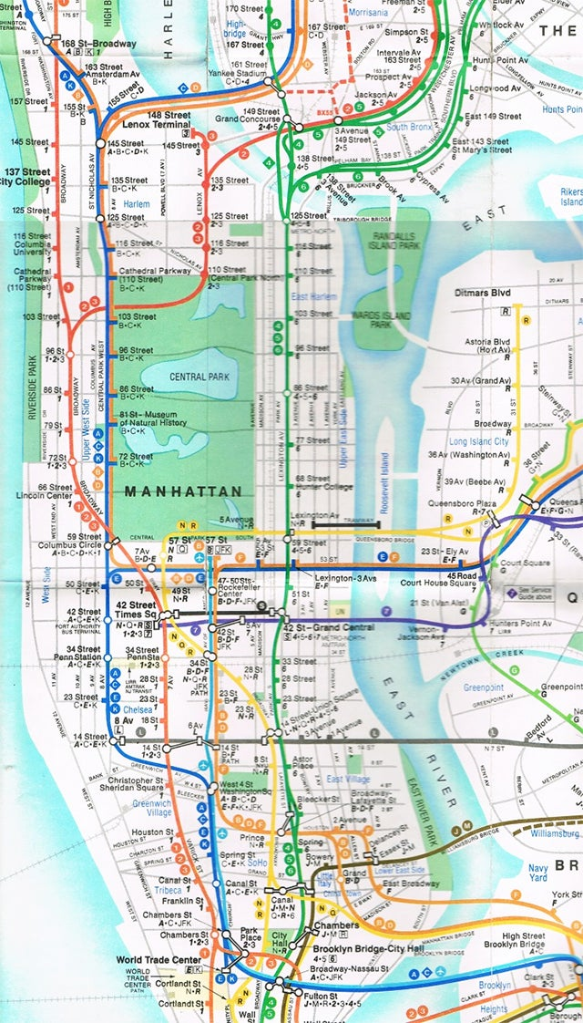 15 Subway Maps That Trace NYC\'s Transit History