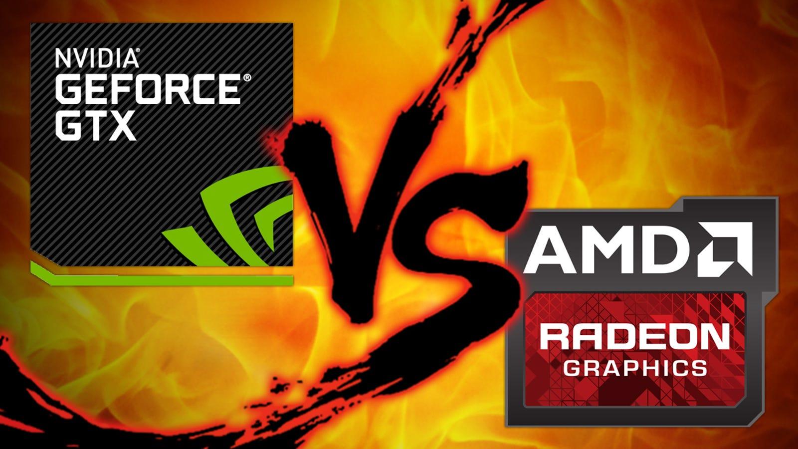 PC Graphics Card Showdown: NVIDIA vs  AMD