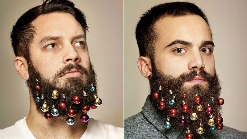 Illustration for article titled Hot New Holiday Trend: Ornaments for Your Goddamned Beard