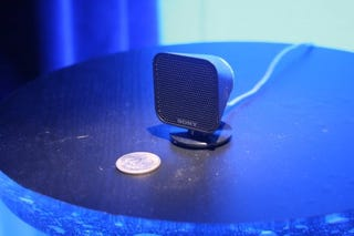 Illustration for article titled Sony Debuts Micro Size DAV-IS10 Home Theater System