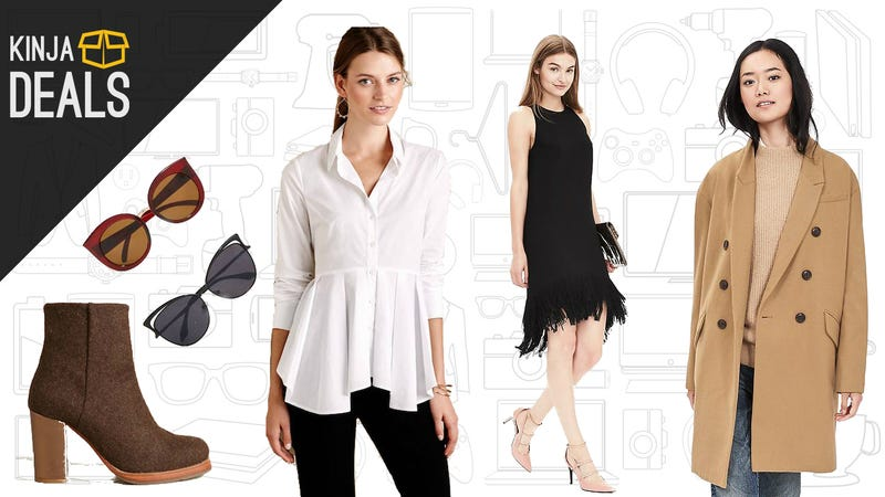 Illustration for article titled Today's Best Apparel Deals:Anthropologie, Nasty Gal,Banana Republic