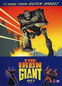Illustration for article titled 1-Star Movie Reviews: The Iron Giant