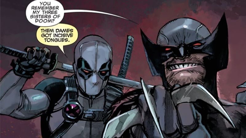 Uncanny X-Force #5.1 art by Rafael Albuquerque and Dean White, words by Rick Remender.