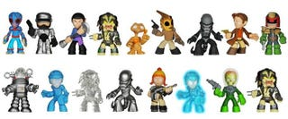 Illustration for article titled New Adorable Toy Series Featuring Dredd, Tron, Spock, And More