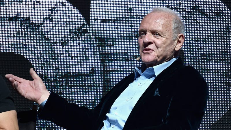 Illustration for article titled Anthony Hopkins celebrates the return of Westworld with a truly terrifying video