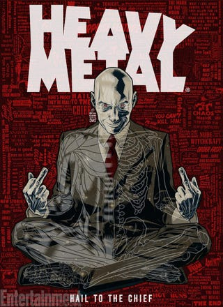 Illustration for article titled Grant Morrison is Heavy Metal Now