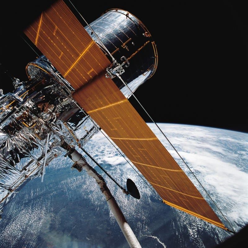 Illustration for article titled Happy 24th Launch-Day, Hubble!