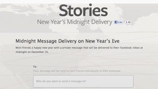 Illustration for article titled Facebook Spam Everyone You Know a 'Happy New Year' Message Right at Midnight on January 1st
