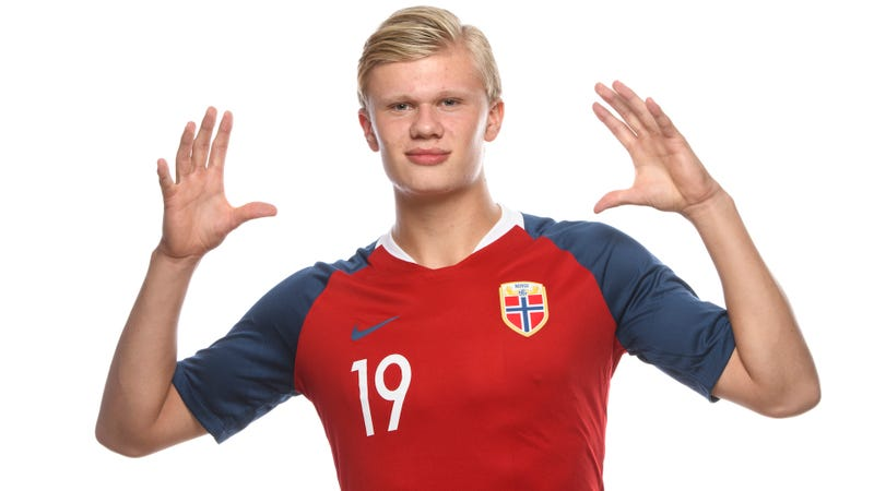 Illustration for article titled Large Norwegian Teen Scores Nine Goals In One Game In U-20 World Cup