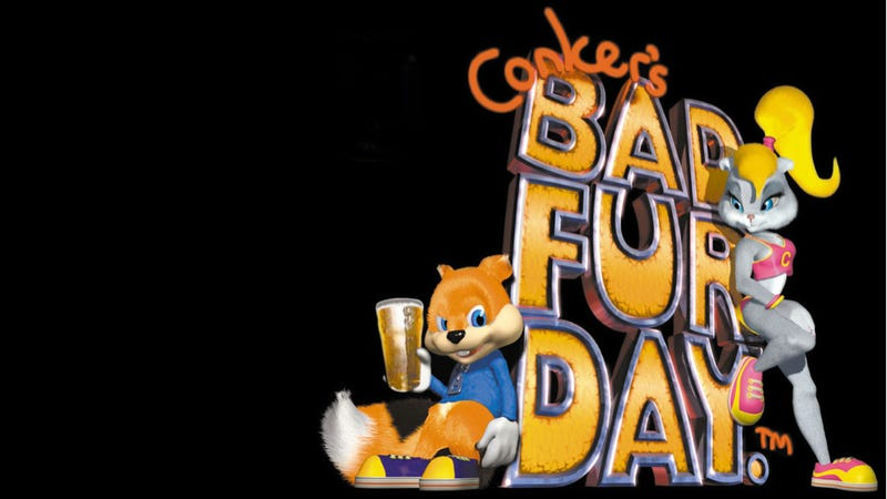 Illustration for article titled Conker's Bad Fur Day Was Supposed to Include Pokémon and KKK Jokes