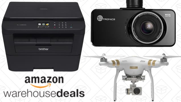 Saturday's Best Deals: Extra 15% off Amazon Warehouse, Brother Printer, DJI Drone