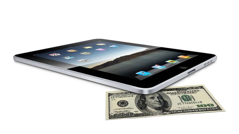Illustration for article titled How You Can Get a Fresh iPad for $100 (Updated)