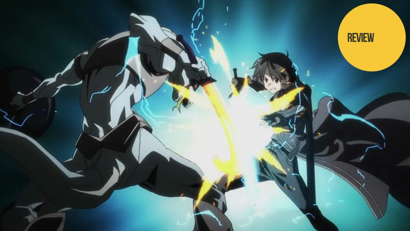 Illustration for article titled Sword Art Online Is the Smartest Anime I've Seen in Years (And It's Only Half-Done)