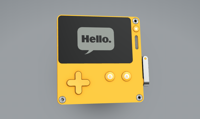 Illustration for article titled Hands-On With The Playdate, The Game Portable With A Crank
