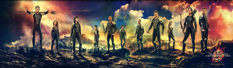 Illustration for article titled How Catching Fire Fixed All the Worst Mistakes The Hunger Games Made