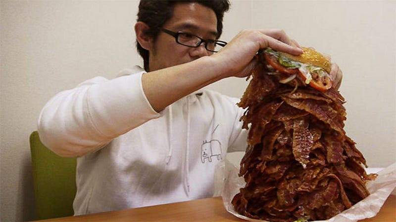 Illustration for article titled If You Order 1,050 Slices of Bacon, Burger King Will Comply