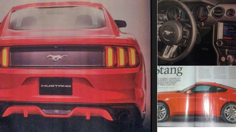 Illustration for article titled What We Now Know About The 2015 Ford Mustang