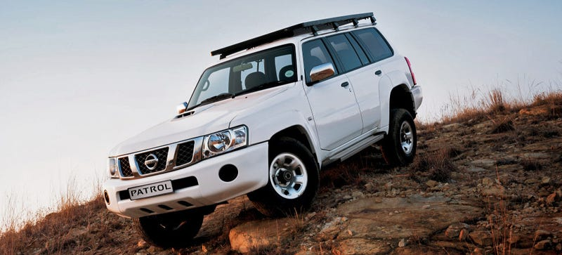 Illustration for article titled The New South African Nissan Patrol Is A Time Machine
