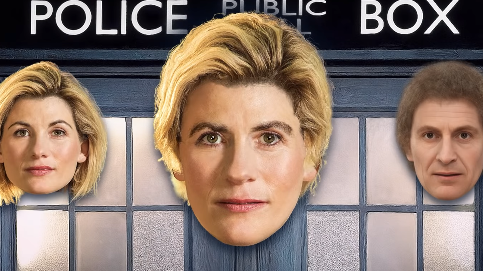 Average Face of Every Doctor Who Star Is a Reminder We're Very Glad Regeneration is a Complete Renewal