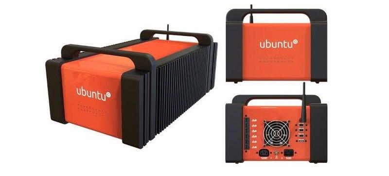 Ubuntu Just Put The Cloud In This Small Orange Box