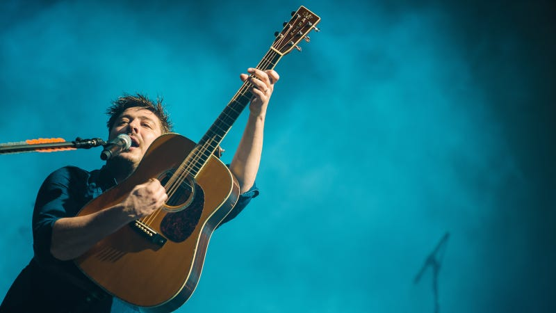 The Mumford and Sons dude. Image via Getty.