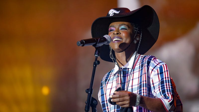 Ms. Lauryn Hill closed down Pitchfork Music Festival 2018 on Sunday evening. (Photo: Michael Hickey/Getty Images)