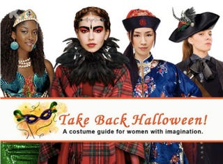 "Illustration for article titled Amazing and Inspirational Women's Costumes to ""Take Back Halloween"""