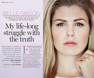Illustration for article titled Fuck Belle Gibson And The Enablers She Rode In On