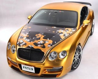 Illustration for article titled ASI Tetsu-Tuned Continental GTR Makes Us Feel Like Taking A Shower