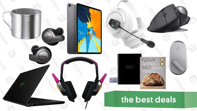 Illustration for article titled Monday's Best Deals: Wayfair Labor Day Clearance, Razer Sale, Jabra Headphones, and More