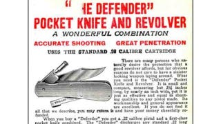 Illustration for article titled Pocketknife Revolver Evens the Odds When You Bring a Knife To a Gunfight