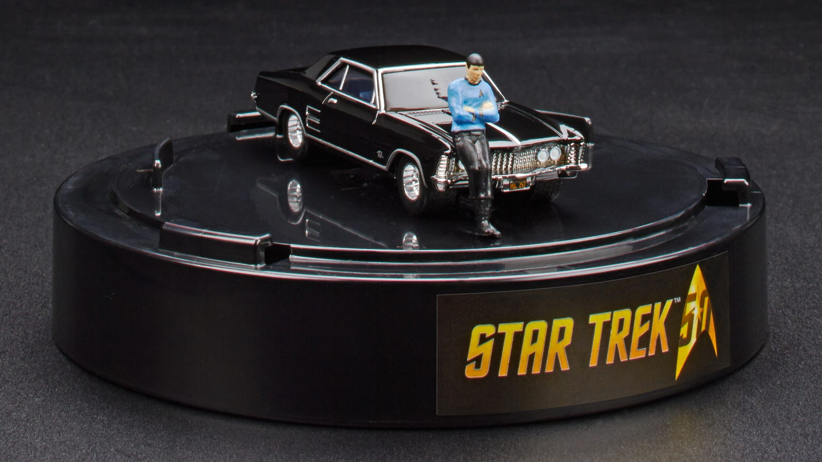 A Tiny Spock Leaning On A 1964 Buick Riviera Is The Best