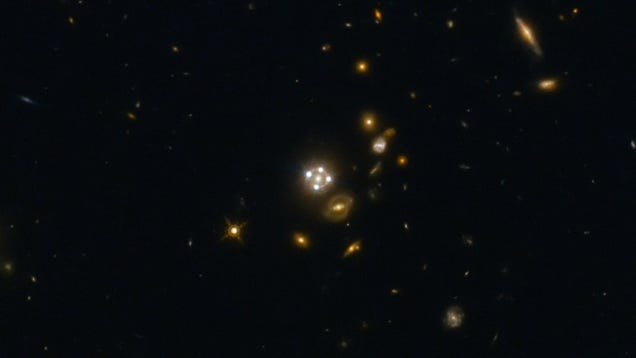 Image: NASA, ESA, Suyu (Max Planck Institute for Astrophysics), Auger (University of Cambridge)