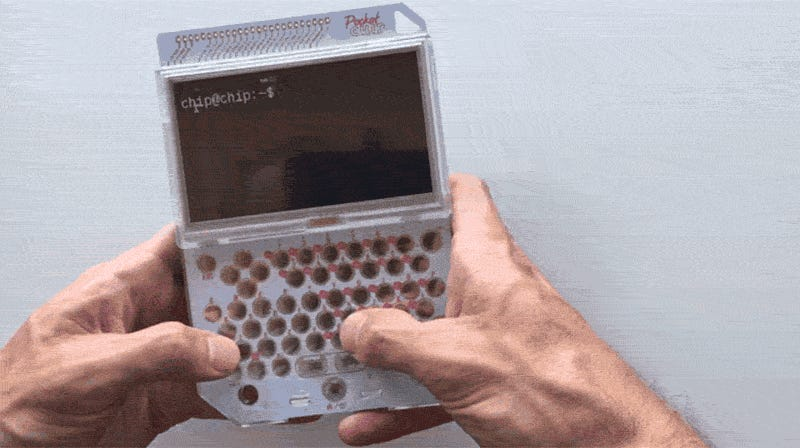 The PocketC.H.I.P. Is the Handheld Linux Machine I've Been Looking For