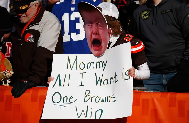 Browns clinging to hope as dismal season drags into bye week