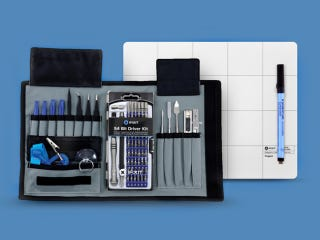 Illustration for article titled Save 40% on the iFixit Pro Tech Toolkit Bundle + Magnetic Project Mat