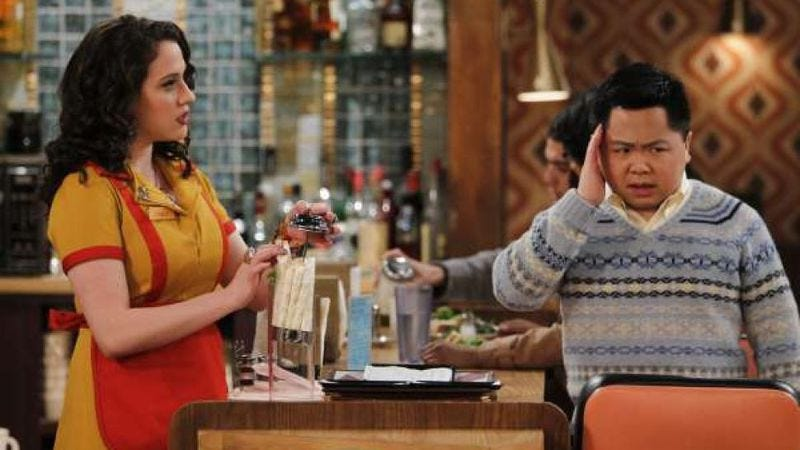 Illustration for article titled 2 Broke Girls manages to offend another racial group, wins racist bingo