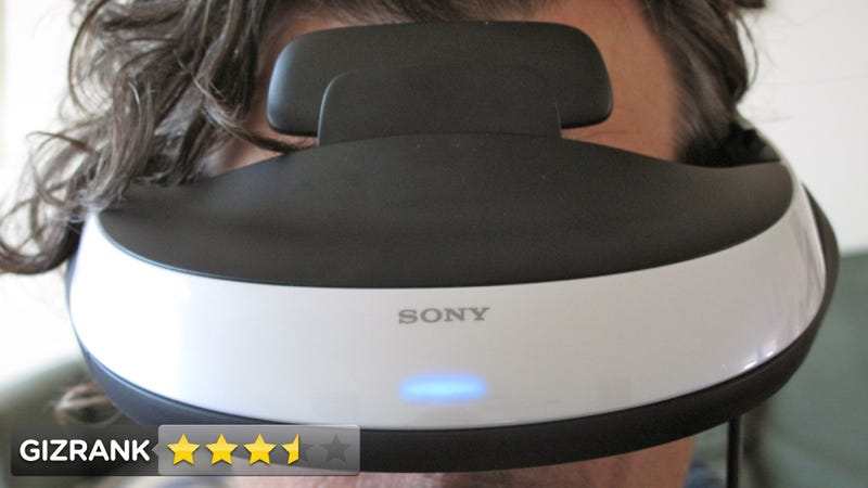 Illustration for article titled Sony HMZ-T1 3DTV Headset Review: An Amazing Toy