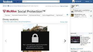 Illustration for article titled McAfee Is Going to Blur Your Facebook Pictures And Make Them Impossible to Download