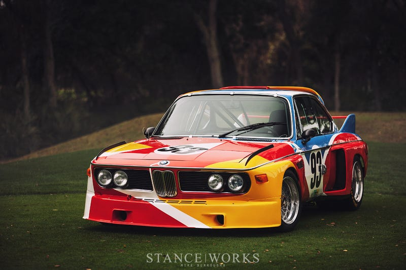 Illustration for article titled BMW's Art Cars Began With This Achingly Beautiful 3.0 CSL Race Car