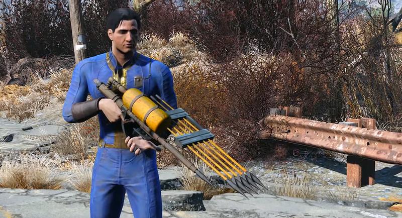 Illustration for article titled Un arma oculta en el código de Fallout 4 revela posibles niveles bajo el agua