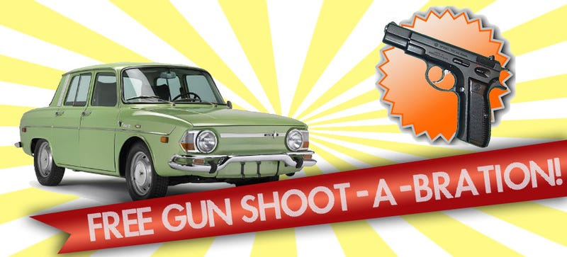 Illustration for article titled Ohio Used Car Dealership Giving Away Guns With Each Car Purchase