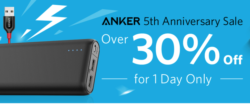 Anker 5th Anniversary Sale