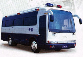Illustration for article titled Chinese Death Bus: A Rolling Execution Studio?