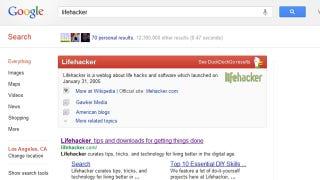 "Illustration for article titled Add DuckDuckGo's Smart ""Zero-Click Info"" Results to Google Searches in Chrome"