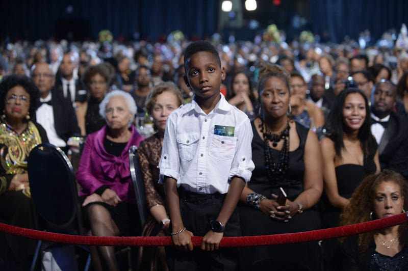 At last year's Congressional Black Caucus Foundation Annual Legislative Conference, audience members listen to President Barack Obama speak at the conference's Phoenix Awards Dinner on Sept. 17 2016, in Washington, D.C. (Olivier Douliery-Pool/Getty Images)