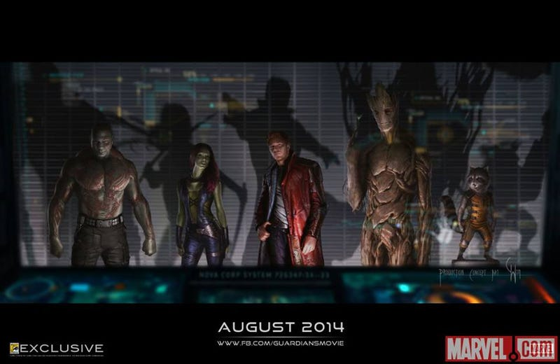 Illustration for article titled Have I Mentioned I Can't Wait for the Guardians?