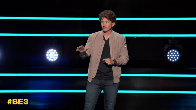Picture: Todd Howard, who may or may not have been into all the yelling