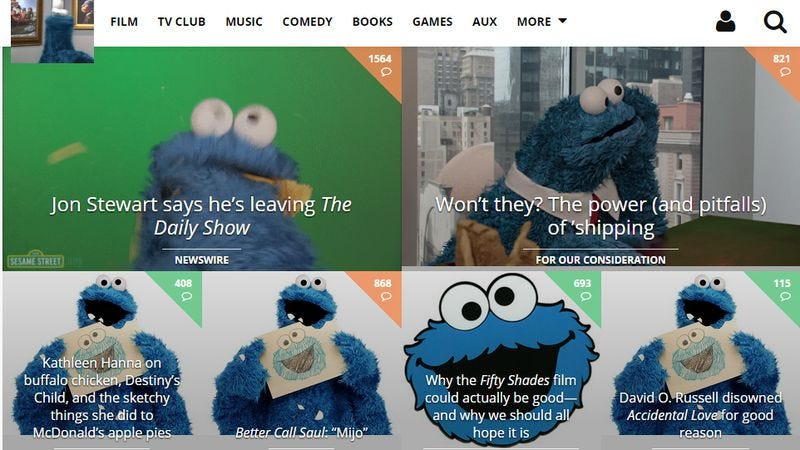 Illustration for article titled Let Cookie Monster into every part of your Internet life with OmNomNomify